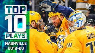 Top 10 Predators Plays of 2019-20 ... Thus Far | NHL by NHL