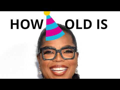 How old is Oprah Winfrey? 🍰🎈