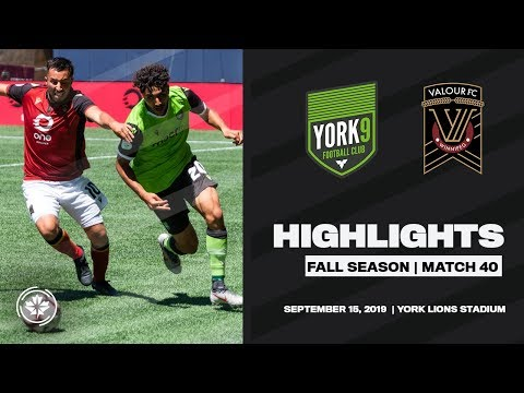 York9 FC vs Valour FC Highlights