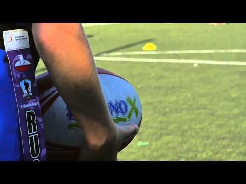 Innowacyjne zajęcia na orliku: Rugby Tag - ćwiczenia