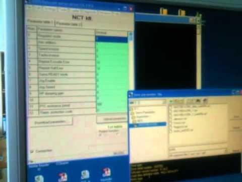 Сохранение и загрузка параметров на CAN BUS сервоприводы NCT