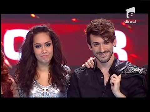 , title : 'Cheloo merge in semifinale cu Double X! Bruiaj, eliminată de la X Factor Romania!'