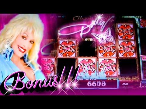 Dolly Parton Feature + Bonus Big Wins - 1c IGT Video Slots