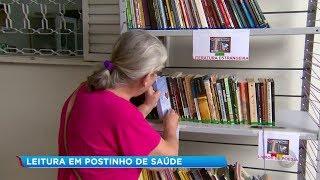 Projeto leva biblioteca para pacientes de posto de saúde em Marília