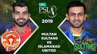 Match 16: Full Match Highlights Multan Sultans vs Islamabad United   HBL PSL 4   HBL PSL 2019
