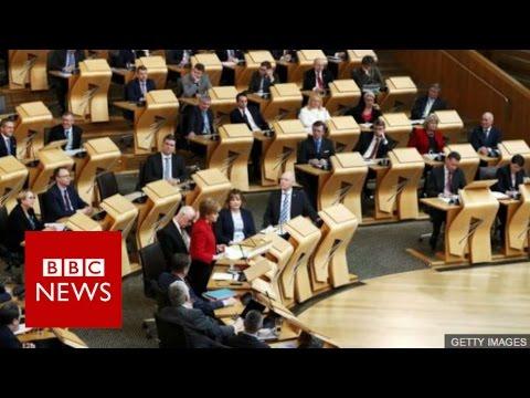 Scottish Parliament backs referendum call - BBC News
