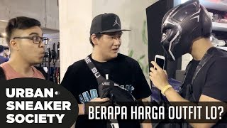 Video BERAPA HARGA OUTFIT LO? PT. 3 | Urban Sneaker Society 3.0 MP3, 3GP, MP4, WEBM, AVI, FLV Januari 2019