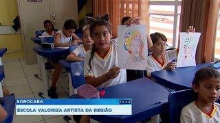 Sorocaba: projeto ensina estudantes a valorizarem artistas locais e respeitarem as diferenças
