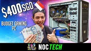 Video NOC Tech Builds $400 Budget Gaming PC! MP3, 3GP, MP4, WEBM, AVI, FLV Desember 2018