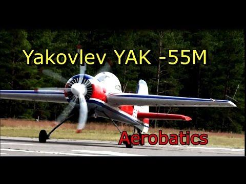 Yakovlev YAK -55M: Aerobatics-...