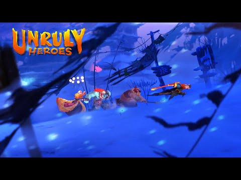 Unruly Heroes | Announce Trailer | PS4 de Unruly Heroes
