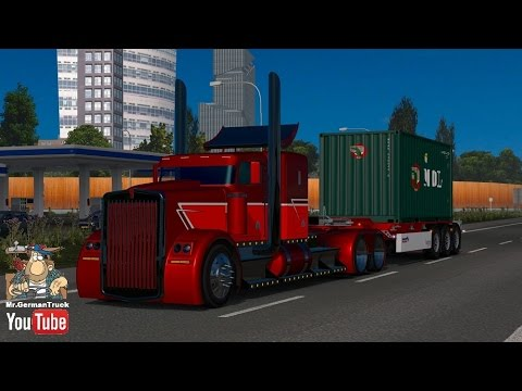 Kenworth Hotw9 Phantom + PPC + New Engines for ETS2