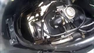 9. Sym Symply 50cc Spark plug Instalation