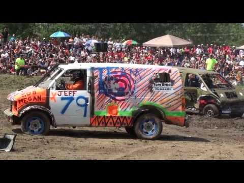 Comber Fair Demolition Derby 2013 | Vans