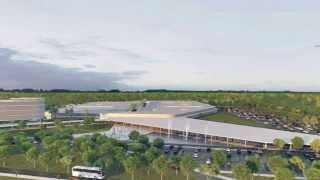 VÍDEO: Primeiro aeroporto industrial do Brasil é inaugurado em Minas Gerais
