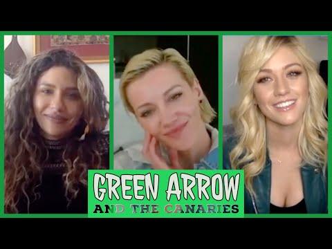 Katie Cassidy, Juliana Harkavy & Kat McNamara on Arrow and Spinoffs | TV Insider
