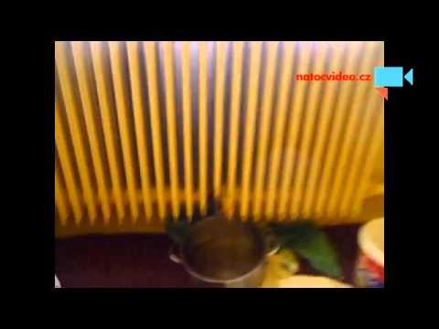 nutná oprava radiátoru