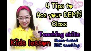 Video Tips for Online Demo Teaching ( 51Talk Demo ) ( ESL demo - Kids Lesson ) (Tagalog/English) MP3, 3GP, MP4, WEBM, AVI, FLV September 2019