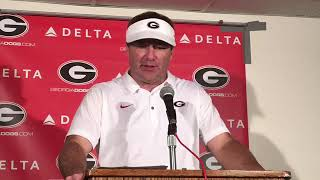 Georgia Bulldogs on UGASports.com: Kirby Smart Post-LSU Press Conference 10-13-18