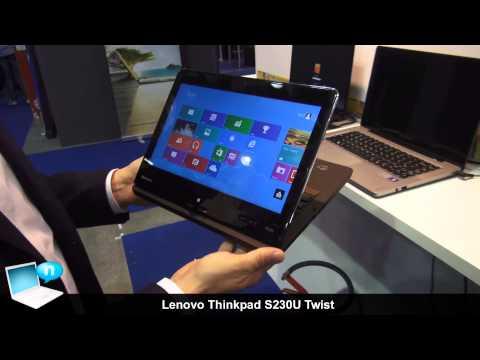 Lenovo Thinkpad Twist S230u ultrabook tablet convertibile