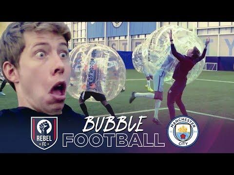 Video: BUBBLE FOOTBALL | Manchester City v Rebel FC
