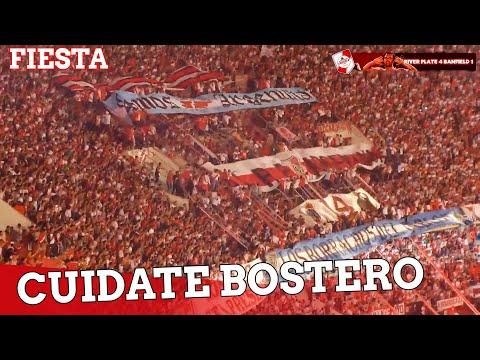 CUIDATE BOSTERO + FIESTA - River Plate vs Banfield - Campeonato 2015 - Los Borrachos del Tablón - River Plate