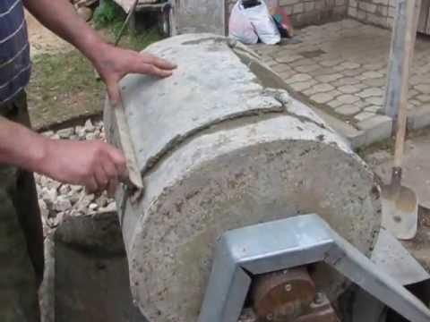 Бетономешалка своими руками видео ютуб