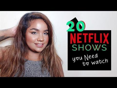 20 Netflix shows: Sex Comedy, Horror Thriller, Teen Drama, Mystery....