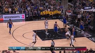 Quarter 3 One Box Video :Spurs Vs. Warriors, 5/21/2017