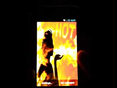 Video of Fire Live Wallpaper