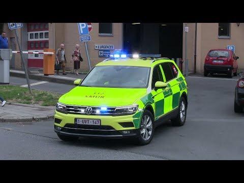 Départ nouveau SMUR VW Tiguan - GHDC Notre Dame Charleroi