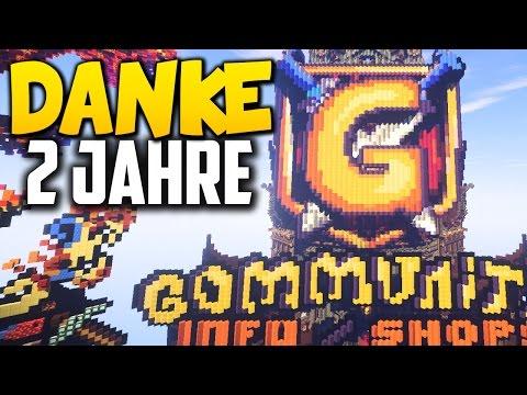 Danke! 2 Jahre GommeHD.net - Minecraft Server