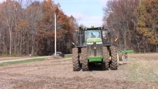 Video John Deere 9410R Working Ground Through A Muddy Spot MP3, 3GP, MP4, WEBM, AVI, FLV November 2017