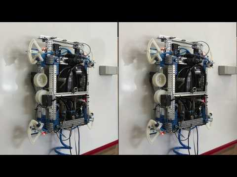 Air-stabilized Robot: Improved Control Law