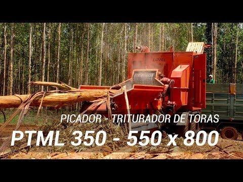 Picador Florestal trabalhando - PTML 350 550x800 operando a mais de 5 anos