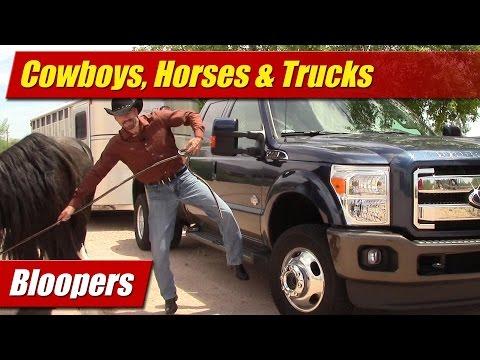 Bloopers: Cowboys, Horses & Trucks