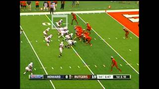 Keith Pough vs Rutgers (2012)