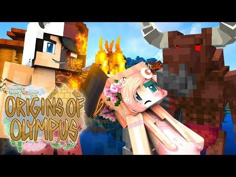 """DON'T HURT HER!"" | Origins of Olympus Season 2 | EP 5 (Minecraft Percy Jackson Roleplay)"