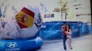 España Contra Portugal. Television  De Portugal,bernabeu