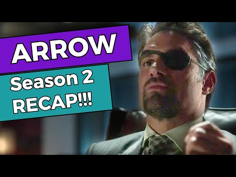 Arrow - Season 2 RECAP!!!
