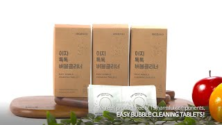 video thumbnail [ecoAND] Easy Biodegradable All Natural Effervescent Cleaning Tablets youtube