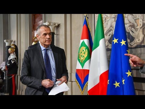 Nach Scheitern der Koalition: Cottarelli soll Übergangsregierung bilden