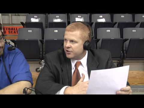 Chuck Benson postgame interview Catawba 1-26-13