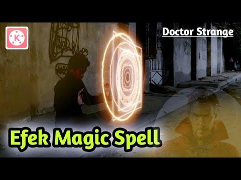 Tutorial KINEMASTER  Efek Magic spell DOCTOR STRANGE