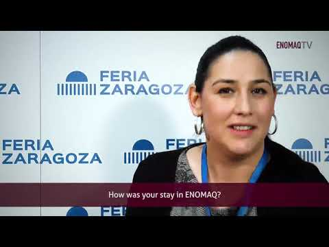 Interview with Daniela Popescu in Enomaq 2019