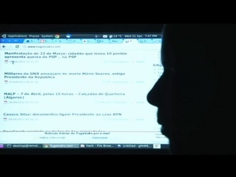 euronews on the frontline - Cyber crime and the threat of virtual terrorism