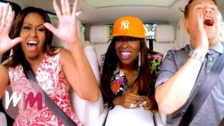 Video Top 10 Best James Corden Carpool Karaoke Performances download in MP3, 3GP, MP4, WEBM, AVI, FLV Mei 2017