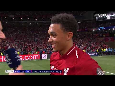 """I'm just a normal lad from Liverpool whose dreams came true!"" Trent Alexander-Arnold interview"