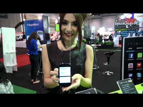 i-mobile เผยโฉม  i-STYLE แอนดรอยด์โฟน สองซิม