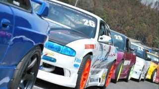 ロッソモデロ シルビアS14 D1GP SL東日本 日光サーキット ドリフト